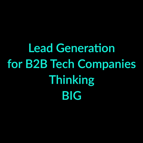Domino Digital Marketing | Lead Generation for B2B Tech Companies Thinking BIG